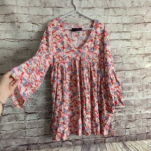 Denim Supply Ralph Lauren S Floral Babydoll Dress